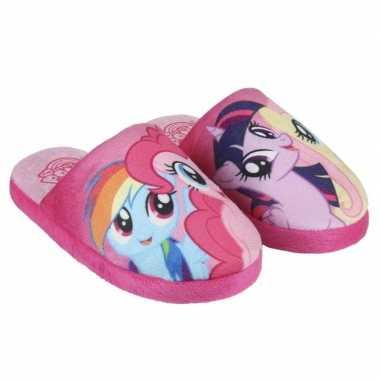 Roze my little pony pantoffels meisjes