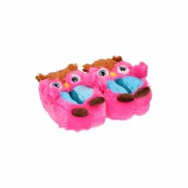 Uil pantoffels kinderen