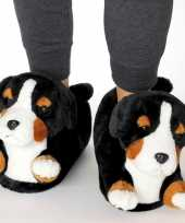 Dieren berner sennen hond pantoffels sloffen volwassenen